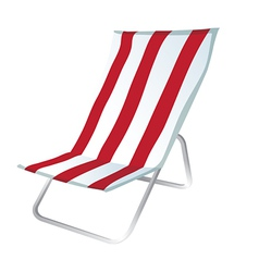 lounge chair vector image