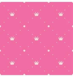 Princess pink background vector