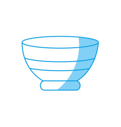 bowl icon image vector image vector image