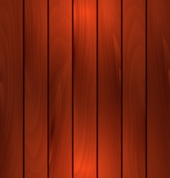 Dark wooden texture plank background with light - vector