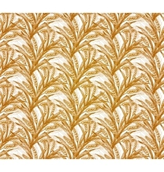 Rye seamless pattern  eps10 vector