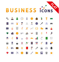 Business universal icons vector