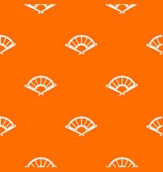 Fan pattern seamless vector