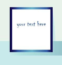 rectangular frame vector image