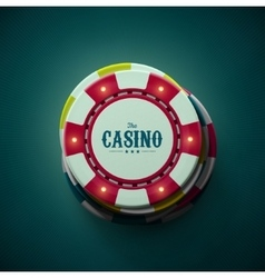 The Casino vector image vector image