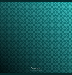 Vintage dark green background vector