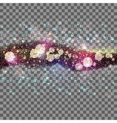 Far star field at transparent vector