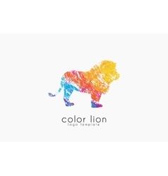 lion logo design Africa logo Animal africa vector image