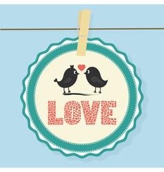 Love Card10 vector image