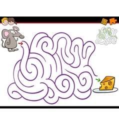 Maze activity with mouse vector