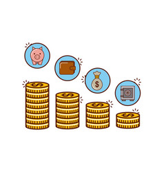 Money or economy related image vector