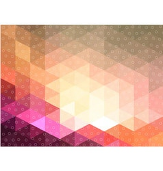 Pink triangle cave with circle texture vector