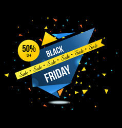Black friday sale and discounts labels set vector