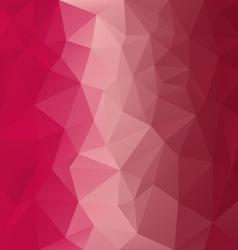 Red pink magenta polygonal triangular pattern vector