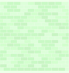 green brick pattern seamless rectangle background vector image