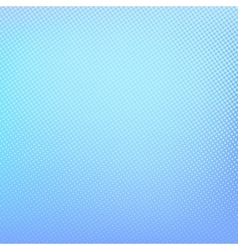 Halftone background blue and turquoise pattern vector