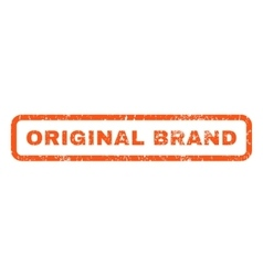 Original brand rubber stamp vector