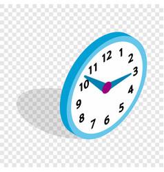 office clock isometric icon vector image