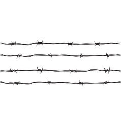 Barb wire seamless repeatable texture pattern vector