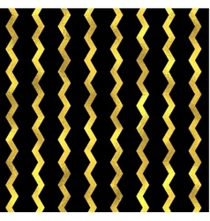 Gold glittering zigzag wave backgrouns vector