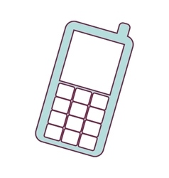 Cellphone mobile device vector