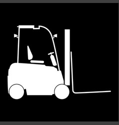 Electric loader icon vector