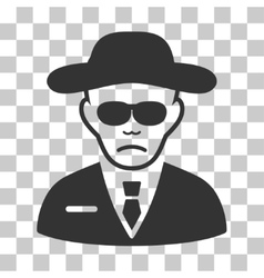 Security agent icon vector
