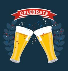 Celebrate invitation vector