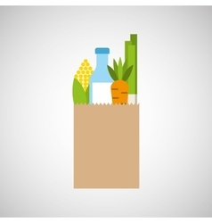 Food nutrition design vector