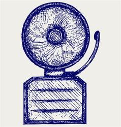 Alarm bell vector image vector image