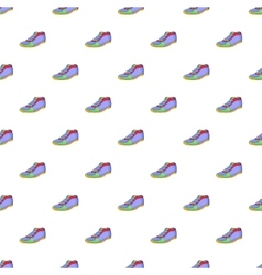 Cleats pattern cartoon style vector
