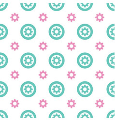 fabric print texture vector image