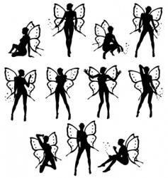 Little fairy vector