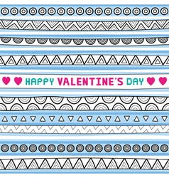 Seamless valentine card4 vector