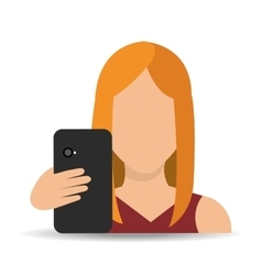 Smartphone and user vector