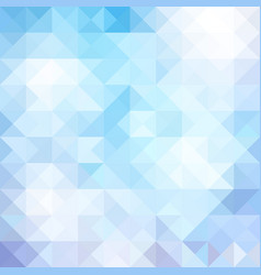 Abstract blue triangle background contains vector