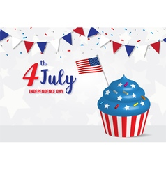 Independence day 4 th july celebration vector