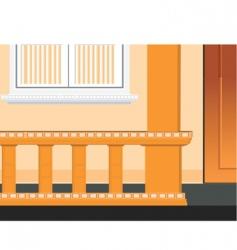 veranda vector image vector image