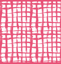 Seamless pattern with brush cross and vector