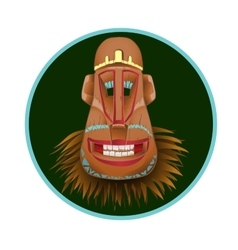 Totem mask as a gay person vector