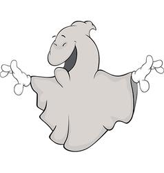 Ghost cartoon vector