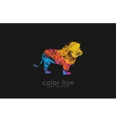 Lion logo design africa logo animal africa vector