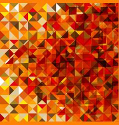 polygonal autumn background vector image vector image