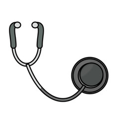Stethoscope medical symbol vector