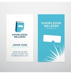 Knowledge welders education abstract vector