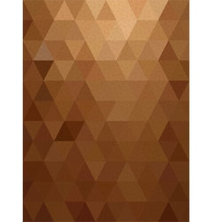 Brown triangle with line texture background vector