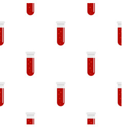 Blood test pattern seamless vector