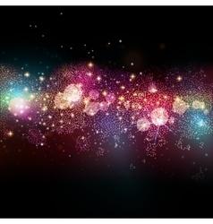Far star field in deep space vector