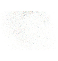 Confetti on a white rectangle vector