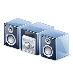 sound system vector image